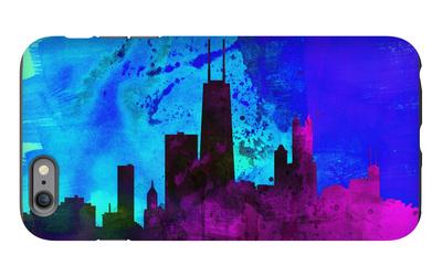 Chicago City Skyline iPhone 6 Plus Case by  NaxArt