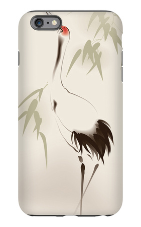 Oriental Style Painting, Red-Crowned Crane iPhone 6s Plus Case by  ori-artiste