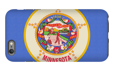 Minnesota State Flag iPhone 6s Plus Case by  Lantern Press