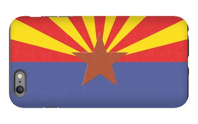 Arizona State Flag iPhone 6s Plus Case by  Lantern Press