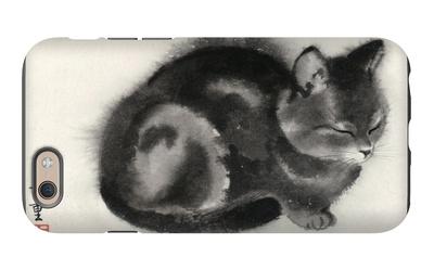 Sleeping Gray Cat iPhone 6s Case