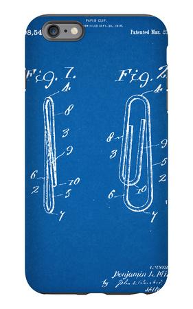 Paper Clip Patent iPhone 6s Plus Case