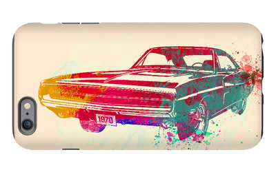 1967 Dodge Charger 1 iPhone 6 Plus Case by  NaxArt