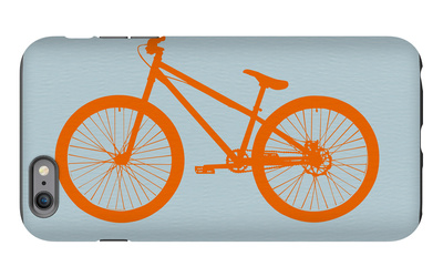 Orange Bicycle iPhone 6 Plus Case by  NaxArt