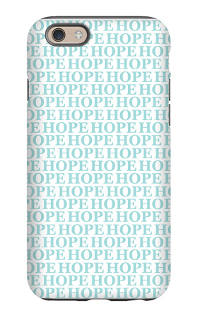 Aqua Hope iPhone 6s Case by  Avalisa