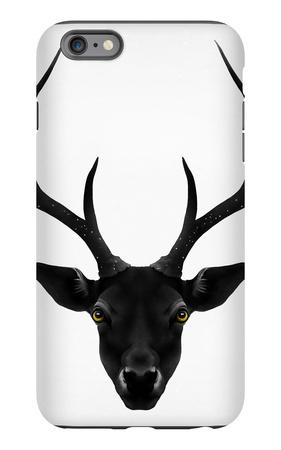 The Black Deer iPhone 6s Plus Case by Ruben Ireland