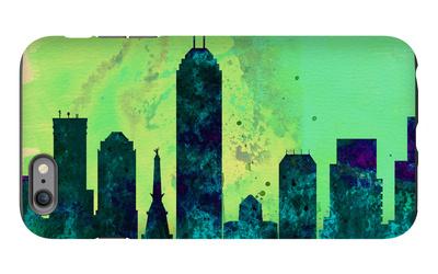 Indianapolis City Skyline iPhone 6 Plus Case by  NaxArt