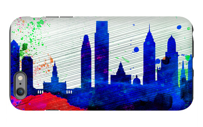 Philadelphia City Skyline iPhone 6s Plus Case by  NaxArt