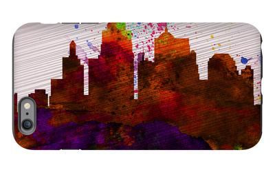Kansas City Skyline iPhone 6 Plus Case by  NaxArt