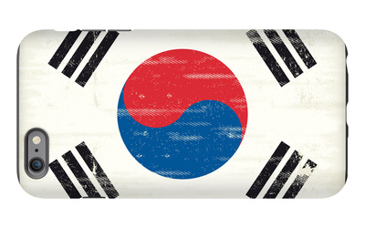 South Korea Grunge Flag. A Flag South Korea With A Texture iPhone 6s Plus Case by  TINTIN75