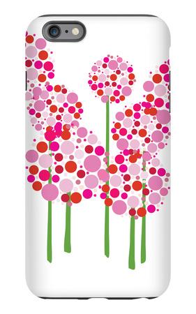 Pink Allium iPhone 6s Plus Case by  Avalisa