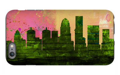 Louisville City Skyline iPhone 6s Plus Case by  NaxArt
