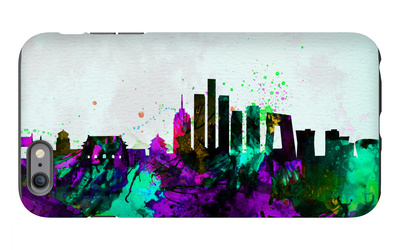 Beijing City Skyline iPhone 6s Plus Case by  NaxArt