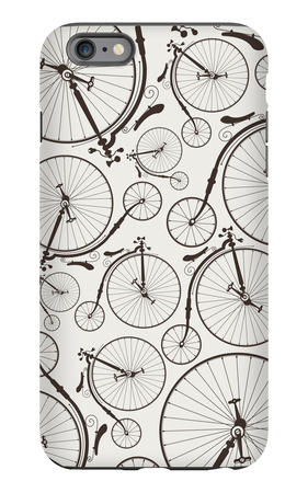 Vintage Bicycle Seamless iPhone 6s Plus Case by  szsz
