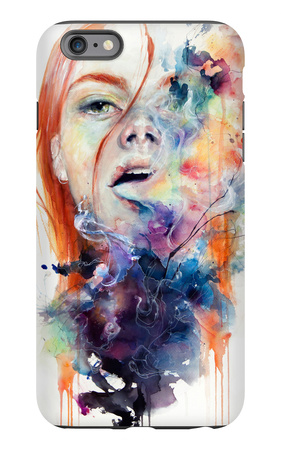 This Thing Called Art Is Really Dangerous iPhone 6s Plus Case by Agnes Cecile