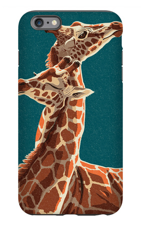 Giraffe iPhone 6s Plus Case by  Lantern Press