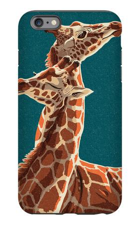 Giraffe iPhone 6s Plus Case by  Lantern Press
