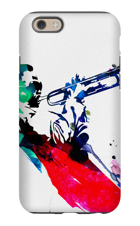 Miles Watercolor iPhone 6s Case by Lora Feldman