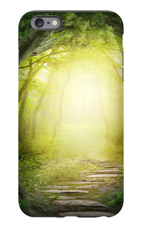 Road In Dark Forest iPhone 6s Plus Case by  egal
