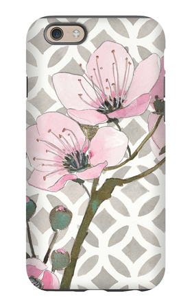 Pretty in Pink Blossoms 3 iPhone 6 Case by Megan Swartz