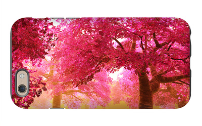 Mysterious Japanese Cherry Blossom Tree Sakura Render iPhone 6 Case by  boscorelli