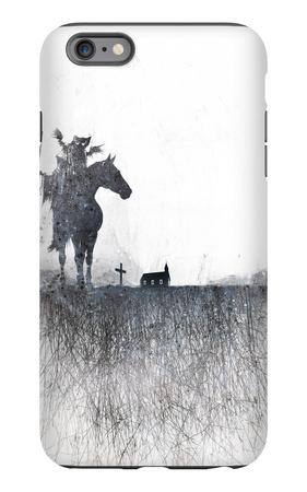 Death rides a horse iPhone 6s Plus Case by Alex Cherry
