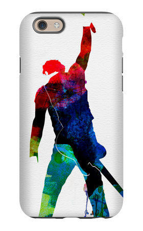Bruce Watercolor iPhone 6s Case by Lora Feldman