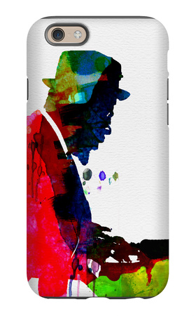 Thelonious Watercolor iPhone 6s Case by Lora Feldman
