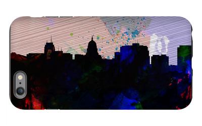 Madison City Skyline iPhone 6s Plus Case by  NaxArt