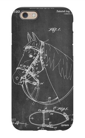 Horse Bridle Patent iPhone 6 Case