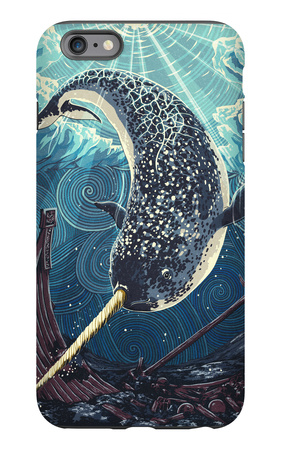 Narwhal iPhone 6s Plus Case by  Lantern Press