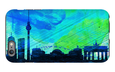 Berlin City Skyline iPhone 6s Plus Case by  NaxArt