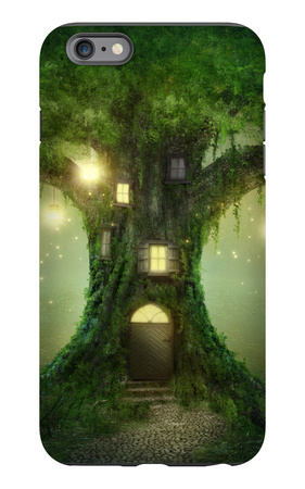 Fantasy Tree House iPhone 6s Plus Case by  egal