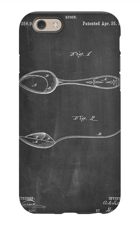 Dinner Spoon Patent iPhone 6 Case