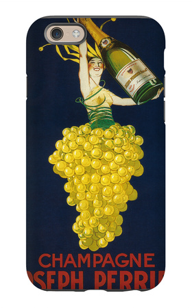 France - Joseph Perrier Champagne Promotional Poster iPhone 6s Case by  Lantern Press
