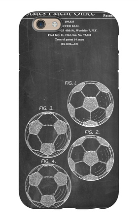 Soccer Ball Patent iPhone 6 Case