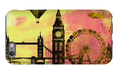 London City Skyline iPhone 6s Plus Case by  NaxArt