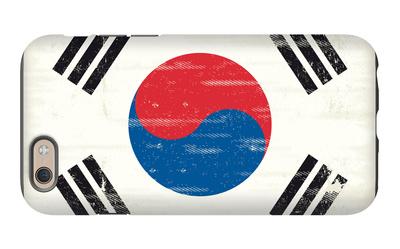 South Korea Grunge Flag. A Flag South Korea With A Texture iPhone 6s Case by  TINTIN75