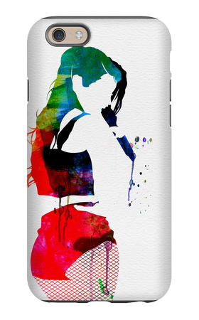Iggy Watercolor iPhone 6s Case by Lora Feldman