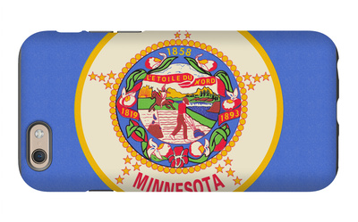 Minnesota State Flag iPhone 6s Case by  Lantern Press