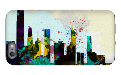 Hong Kong City Skyline iPhone 6s Plus Case by  NaxArt
