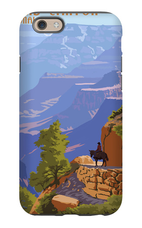 Grand Canyon National Park - Bright Angel Trail iPhone 6s Case by  Lantern Press