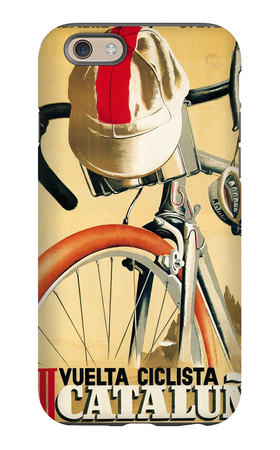 Bicycle Racing Promotion iPhone 6s Case by  Lantern Press