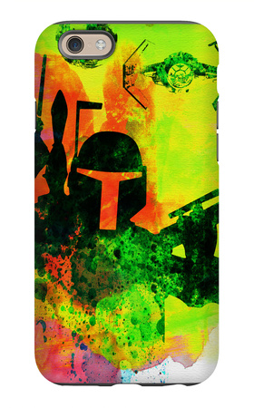 Star Warriors Watercolor 3 iPhone 6s Case by Anna Malkin