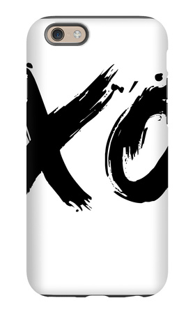 XO White iPhone 6s Case by  NaxArt