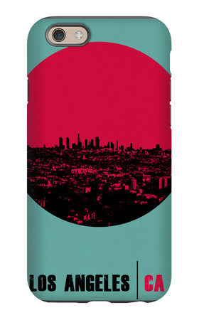 Los Angeles Circle Poster 1 iPhone 6 Case by  NaxArt
