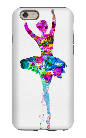 Ballerina Watercolor 1 iPhone 6 Case by Irina March