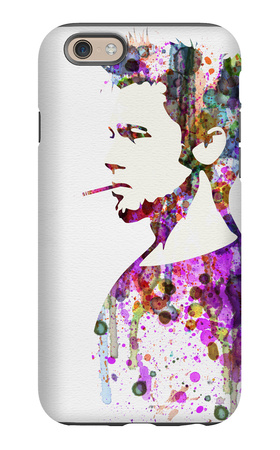 Fight Club Watercolor iPhone 6 Case by Anna Malkin