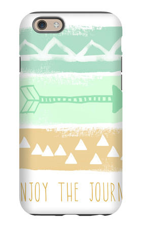 Triangle Pattern Print iPhone 6s Case by Linda Woods