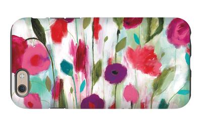 Happy Garden iPhone 6 Case by Carrie Schmitt